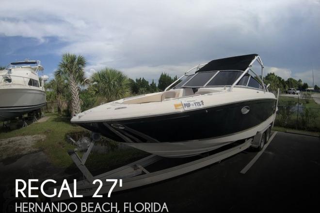 2007 Regal 2700 ES Bowrider - For Sale at Spring Hill, FL 34607 - ID 175972