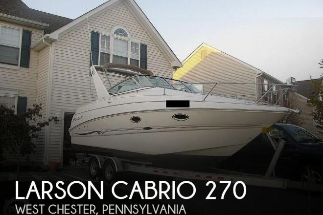 2001 Larson Cabrio 270 - For Sale at West Chester, PA 19380 - ID 173576