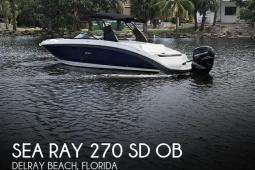 2019 Sea Ray 270 SD OB