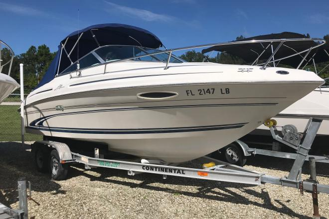 1999 Sea Ray 215 Express Cruiser - For Sale at Port Charlotte, FL 33948 - ID 176536