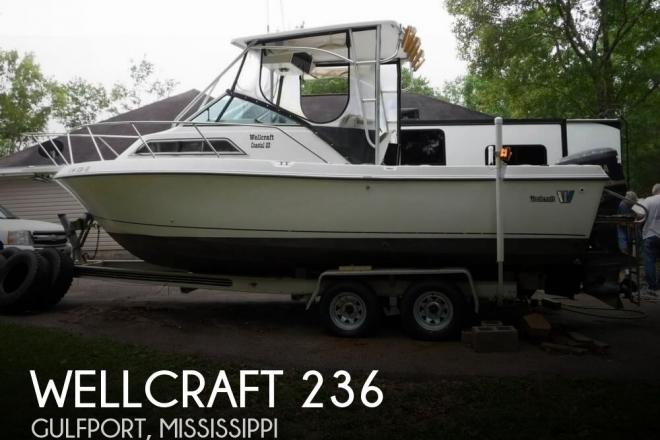 1991 Wellcraft Coastal 236 - For Sale at Gulfport, MS 39503 - ID 165692
