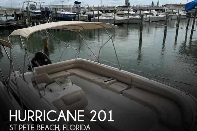 2015 Hurricane 201 Sun Deck - For Sale at Saint Petersburg, FL 33706 - ID 156518