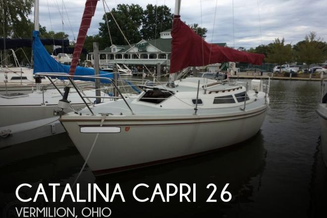 1991 Catalina Capri 26 - For Sale at Vermilion, OH 44089 - ID 176110