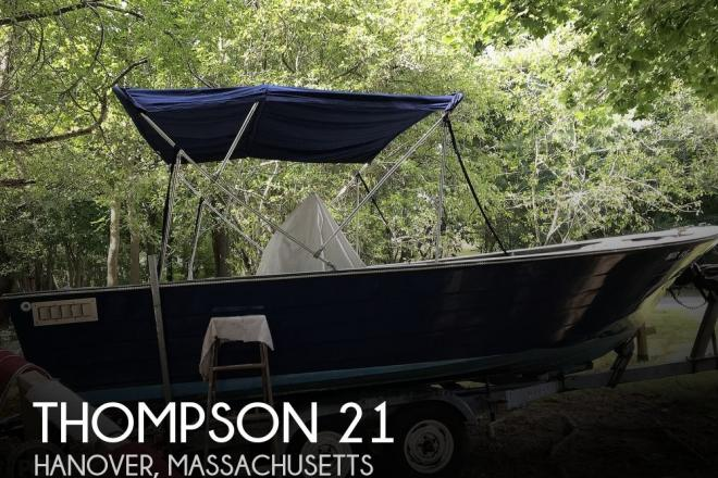 1972 Thompson 21 - For Sale at Hanover, MA 2339 - ID 175205