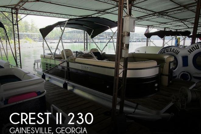 2018 Crest II 230 - For Sale at Gainesville, GA 30503 - ID 177166