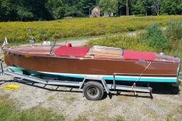 1995 Chris Craft Zimmer Mahogany Runabout
