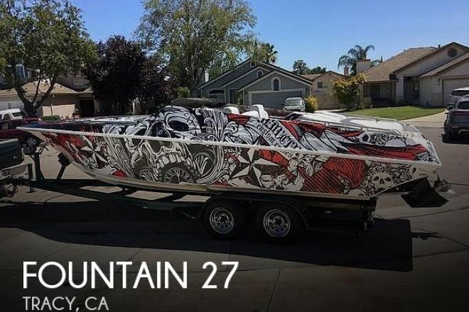1996 Fountain Fever 27 - For Sale at Tracy, CA 95376 - ID 177225
