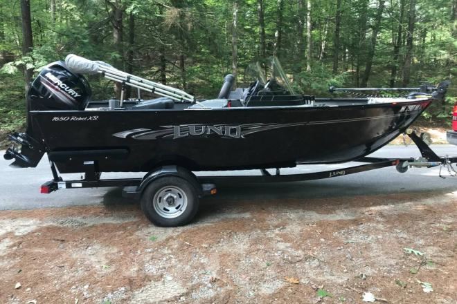 2016 Lund 1650 Rebel XS SS - For Sale at Contoocook, NH 3229 - ID 177265
