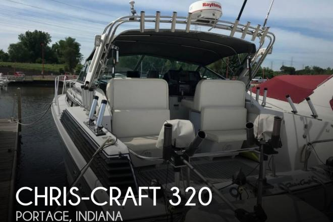 1988 Chris Craft Amerosport 320 - For Sale at Portage, IN 46368 - ID 144578