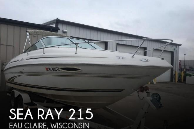 2000 Sea Ray 215 Express Cruiser - For Sale at Chippewa Falls, WI 54729 - ID 135974