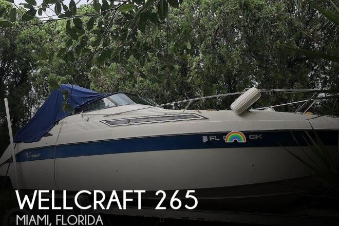 1989 Wellcraft Antigua 265 - For Sale at Miami, FL 33155 - ID 172806