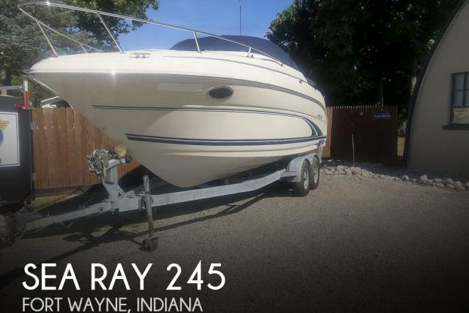 2001 Sea Ray Weekender 245 - For Sale at Angola, IN 46703 - ID 176596