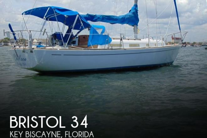 1976 Bristol 34 - For Sale at Key Biscayne, FL 33149 - ID 148536
