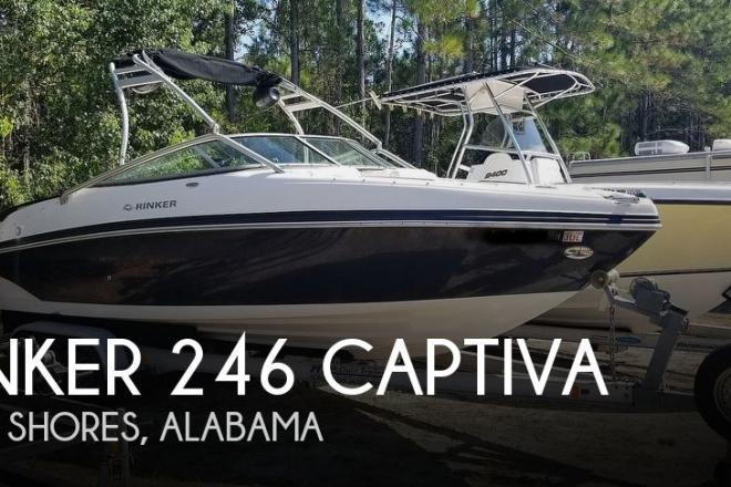 2006 Rinker 246 Captiva - For Sale at Gulf Shores, AL 36542 - ID 177374