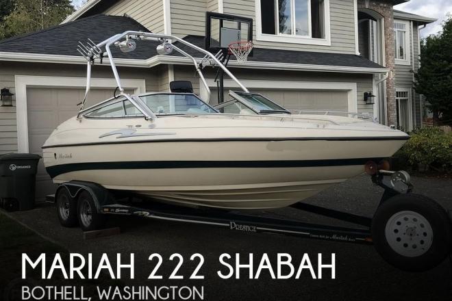1998 Mariah 222 Shabah - For Sale at Bothell, WA 98041 - ID 177228