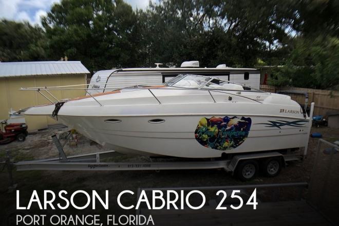 2000 Larson 254 Cabrio - For Sale at Port Orange, FL 32127 - ID 177301