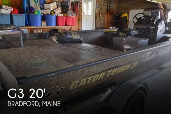 2017 G3 Boats Gator Tough 20 CCJ DLX - For Sale at Bangor, ME 4401 - ID 142122