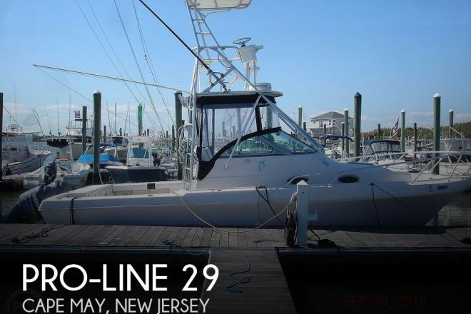 1992 Pro Line 2950 Mid Cabin - For Sale at Cape May, NJ 8204 - ID 177646