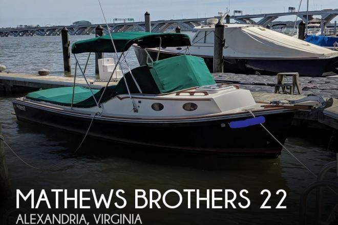 2003 Mathews Brothers 22 - For Sale at Alexandria, VA 22314 - ID 177358