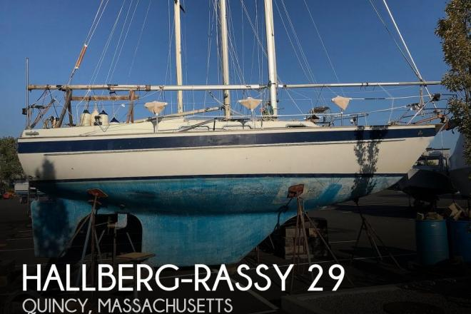 1985 Hallberg Rassy 29 - For Sale at Quincy, MA 2171 - ID 177044