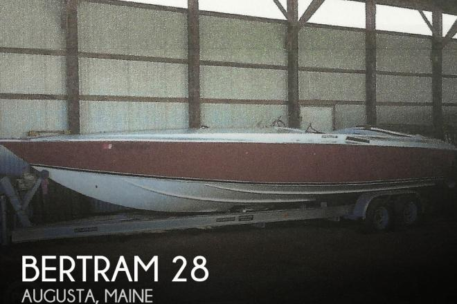 1970 Bertram Baron 28 - For Sale at Augusta, ME 4330 - ID 177907