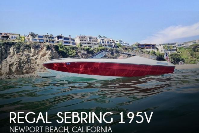 1990 Regal Sebring 195V - For Sale at Newport Beach, CA 92660 - ID 159009