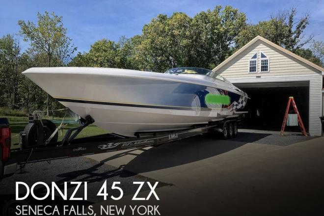 2001 Donzi 45 ZX - For Sale at Seneca Falls, NY 13148 - ID 177210