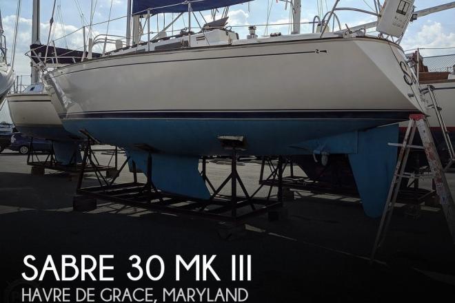 1986 Sabre 30 MK III - For Sale at Havre de Grace, MD 21078 - ID 177158