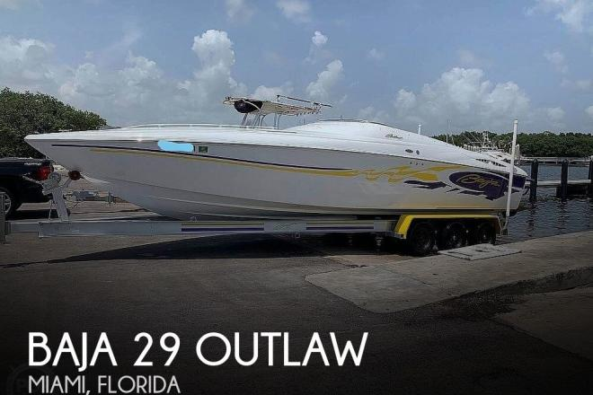 2003 Baja 29 Outlaw - For Sale at Miami, FL 33175 - ID 176280