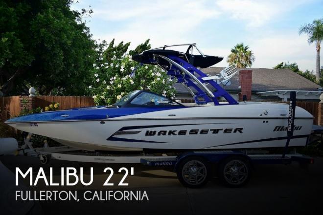 2014 Malibu 22MXZ Wakesetter - For Sale at Fullerton, CA 92833 - ID 177561