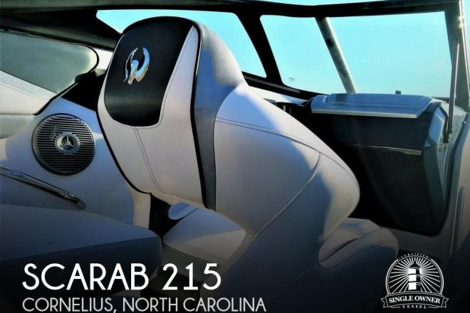 2016 Scarab 215 HO - For Sale at Cornelius, NC 28031 - ID 158425