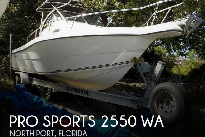 2003 Pro Sport 2550 WA - For Sale at North Port, FL 34291 - ID 177570