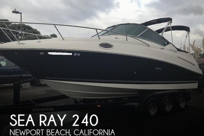 2012 Sea Ray 240 Sundancer - For Sale at Newport Beach, CA 92660 - ID 177701