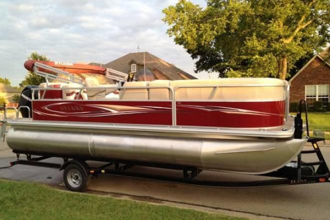 2012 sylvan 820 mirage pontoon boat