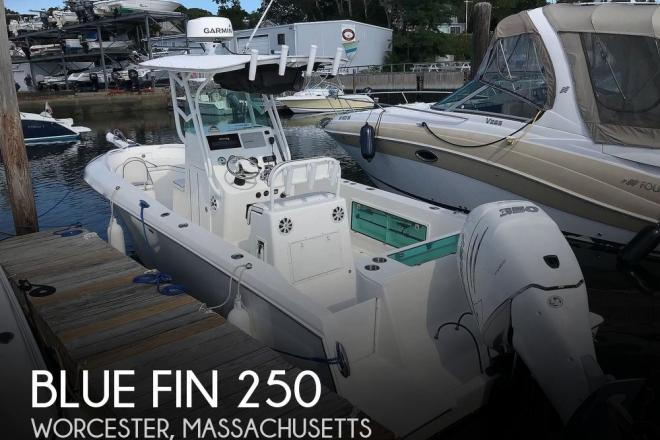 2009 Blue Fin Profish 250 - For Sale at Worcester, MA 1604 - ID 177478