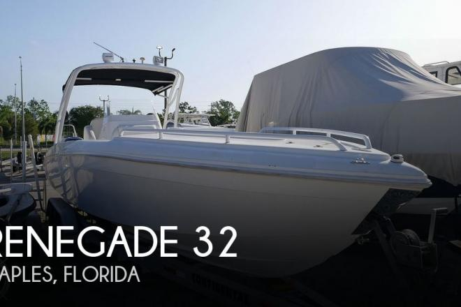 2006 Renegade 32 Center Console - For Sale at Naples, FL 34113 - ID 177647