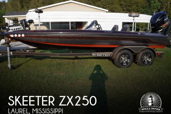 2019 Skeeter ZX250 - For Sale at Laurel, MS 39443 - ID 178509
