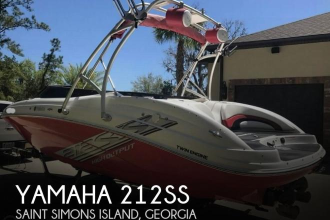 2008 Yamaha 212SS - For Sale at Saint Simons Island, GA 31522 - ID 123294