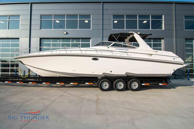 2007 Fountain 38 Express Cruiser - For Sale at Lake Ozark, MO 65049 - ID 176445