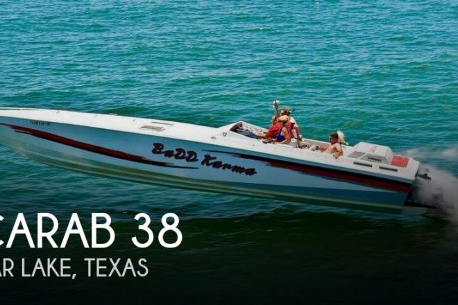 1988 Scarab 38 KV - For Sale at Seabrook, TX 77586 - ID 179375