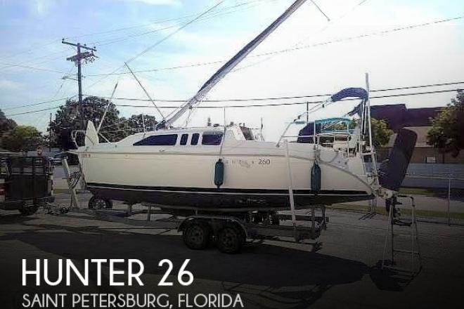 2003 Hunter 260 - For Sale at Saint Petersburg, FL 33702 - ID 179460