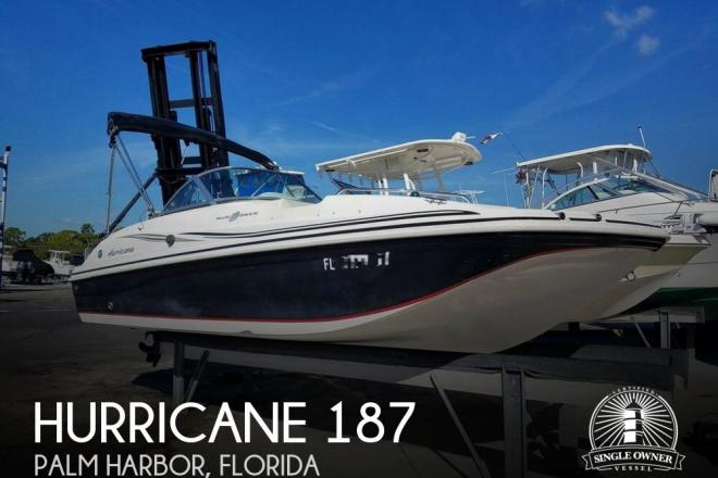 2013 Hurricane 187 Sun deck - For Sale at Palm Harbor, FL 34683 - ID 156491