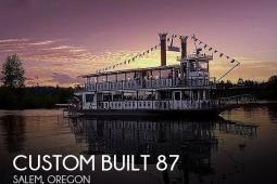 1990 Custom Built 87 Stern-wheeler