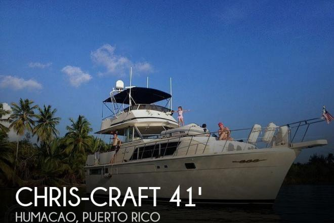 1987 Chris Craft Constellation 410 - For Sale at Humacao, PR 791 - ID 179697
