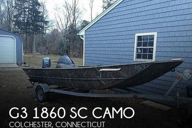 2010 G3 Boats 1860 SC Camo - For Sale at Colchester, CT 6415 - ID 178351