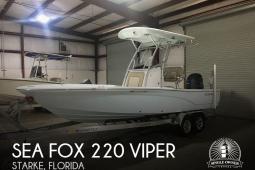 2018 Sea Fox 220 Viper