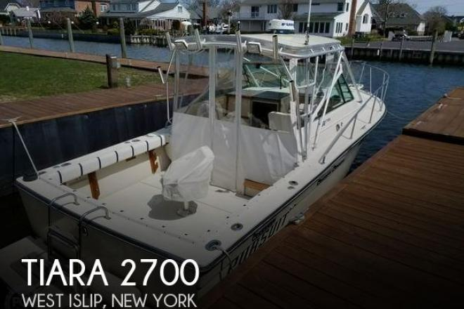 1983 Tiara 2700 - For Sale at West Islip, NY 11795 - ID 147603
