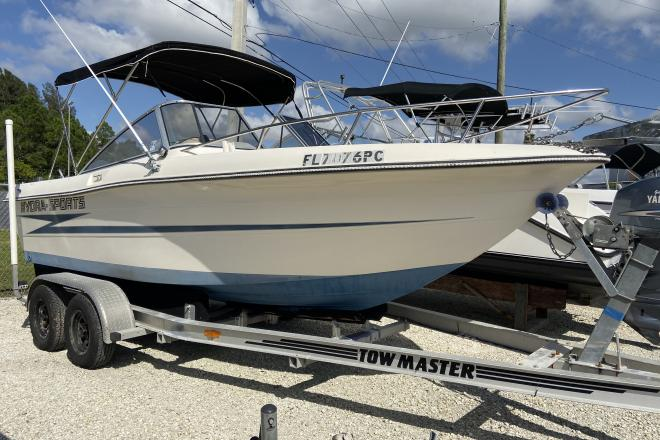 1991 Hydra Sports 2000 Dual Console - For Sale at Port Charlotte, FL 33948 - ID 174966