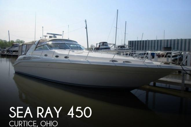 1996 Sea Ray 450 Sundancer - For Sale at Curtice, OH 43412 - ID 98355
