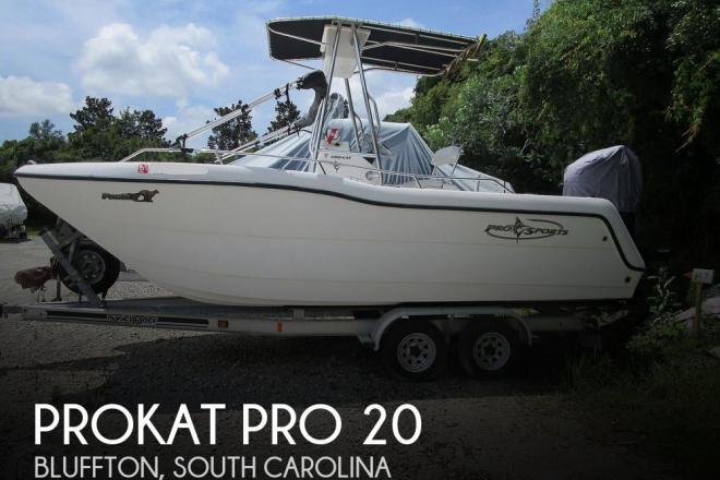 2003 ProKat Pro 20 - For Sale at Okatie, SC 29909 - ID 170673